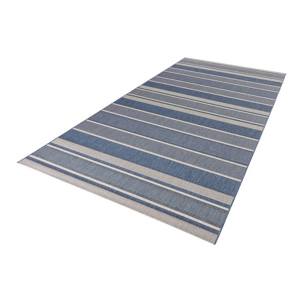Niebieski chodnik Strap, 80x150cm
