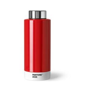 Czerwona butelka ze stali nierdzewnej Pantone, 630ml