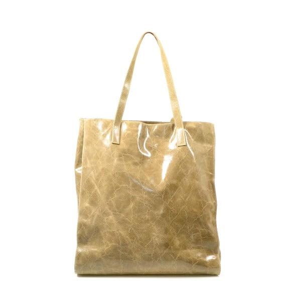 Skórzana torebka Diana, taupe (szarobrązowa)
