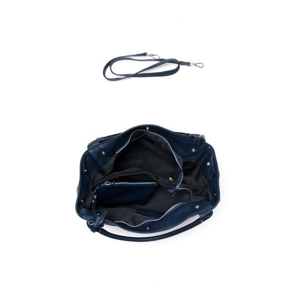 Skórzana torebka Mangotti 1110 Blu