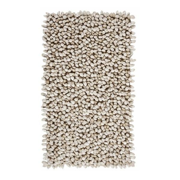 Beżowy dywanik łazienkowy Rocca, 70x120 cm