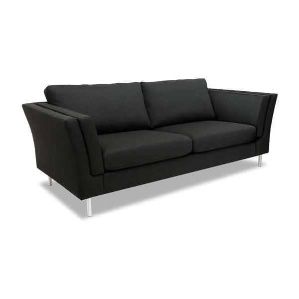 Ciemnoszara sofa dwuosobowa VIVONITA Connor