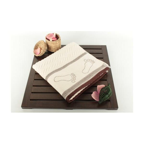 Dywanik łazienkowy Bath Cream Brown, 50x70 cm