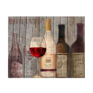 Obraz Wino, 50x40 cm