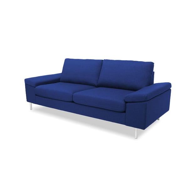 Niebieska sofa trzyosobowa VIVONITA Nathan