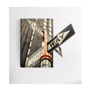 Obraz ścienny 3D Mosticx One Way, 40x60 cm