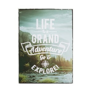 Obraz Graham & Brown Life Is Adventure, 50x70 cm