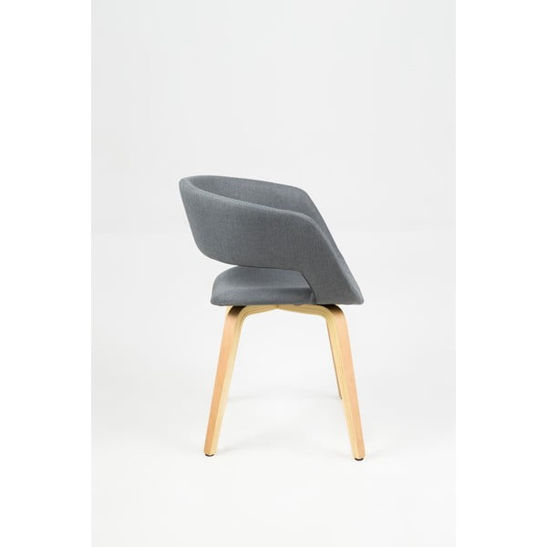 Krzesło do jadalni Grace, ciemnoszare