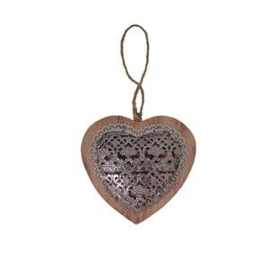 Dekoracja wisząca Antic Heart