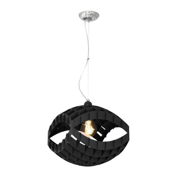 Czarna lampa wisząca Pegasi