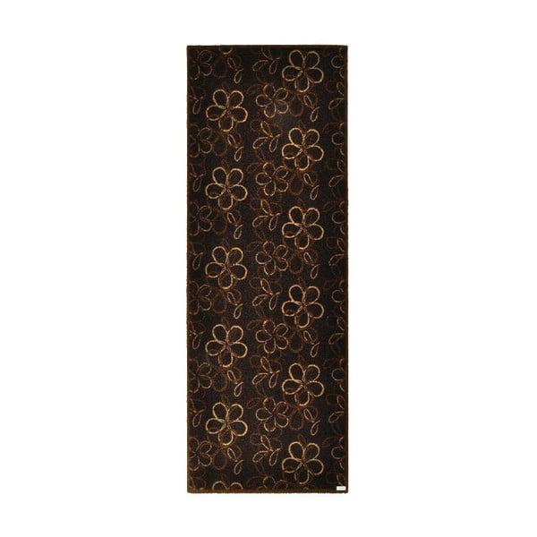 Wycieraczka Floral Brown, 67x180 cm