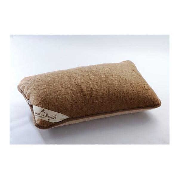 Poduszka wełniana Royal Dream Camel, 40x70 cm