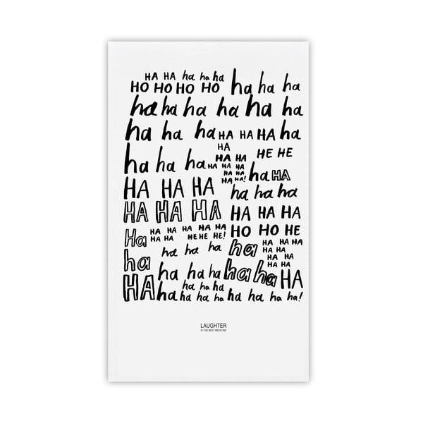 Ścierka kuchenna Laughter, 48x78 cm