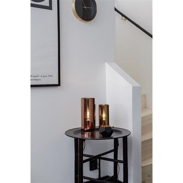Lampa stołowa w kolorze mosiądzu Markslöjd Storm, ⌀ 12 cm