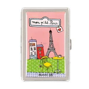 Pudełko na papierosy P'tit Paris, pink/green
