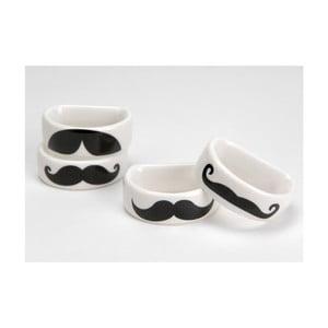 Zestaw serwetników Moustache, 4 szt.