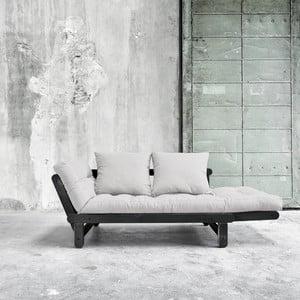 Sofa rozkładana Karup Beat Black/Vision