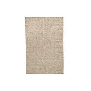 Ręcznie tkany dywan Flat Brown White, 100x160 cm