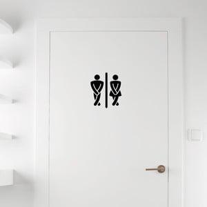Naklejka Ambiance Man / Woman Restrooms