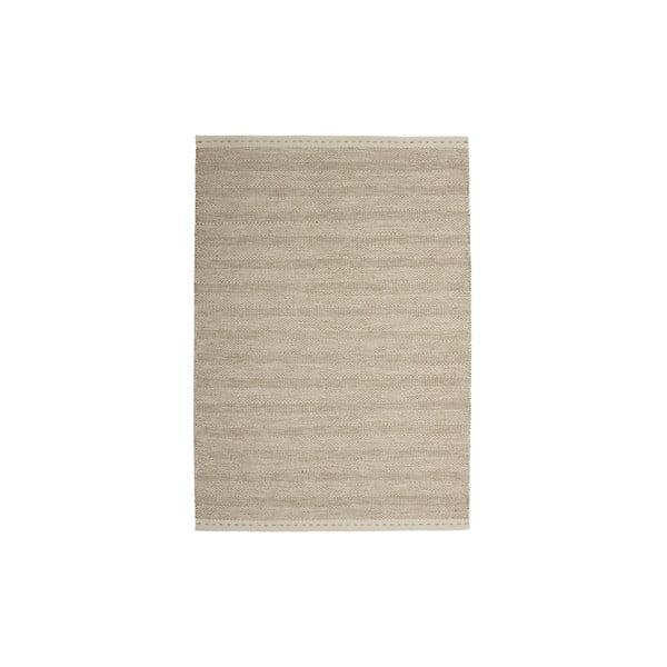 Wełniany dywan Mariposa 80x150 cm, beżowy