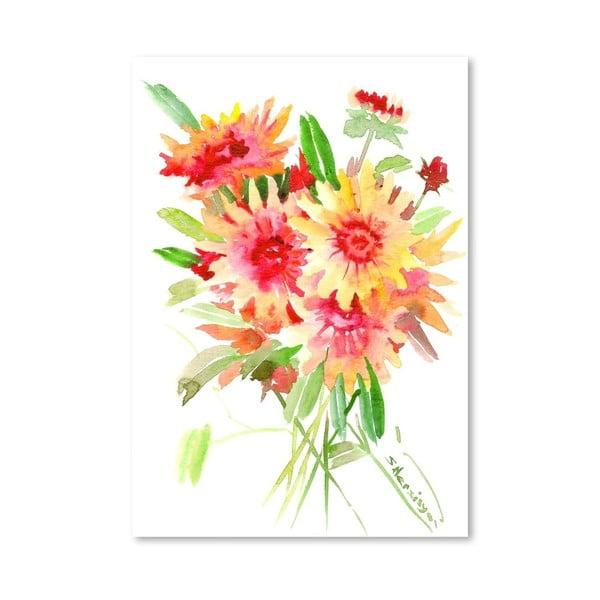 Plakat Flowers in Blanket (projekt Suren Nersisyan)