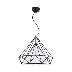 Czarna lampa wisząca Homemania Solin