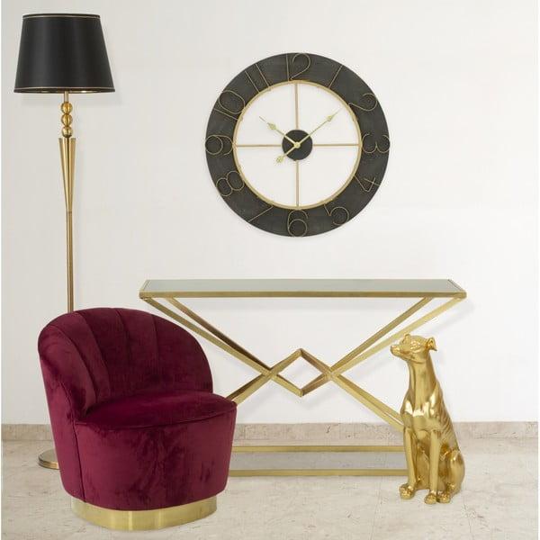Konsola z żelazną konstrukcją Mauro Ferretti Cleopatra, 130x40 cm
