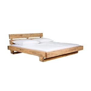 Łóżko z drewna akacjowego SOB Madrid, 180x200cm