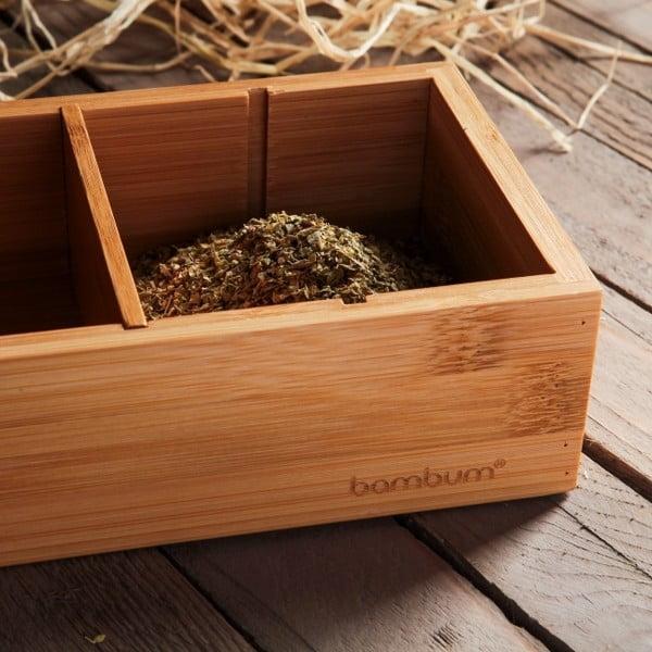 Bambusowy organizer Bambum Cassa