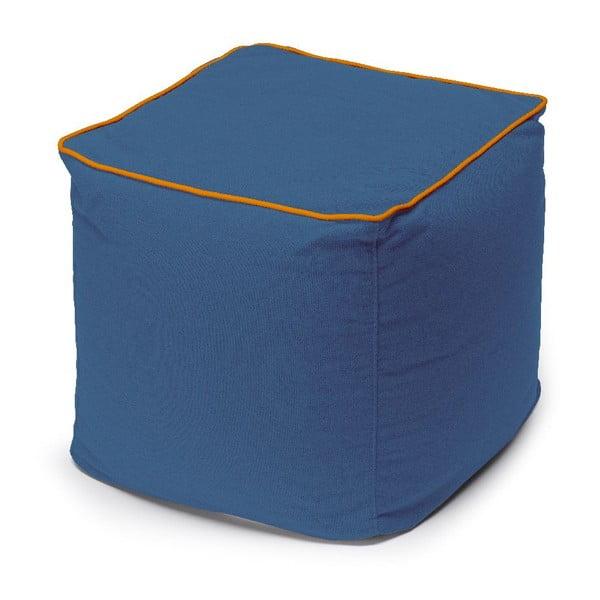 Puf Bicolor, niebieski