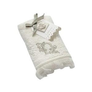 Ręcznik z inicjałem D, 30x50 cm