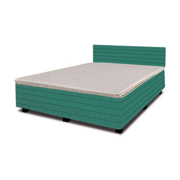 Łóżko z materacem New Star Petrol, 140x200 cm