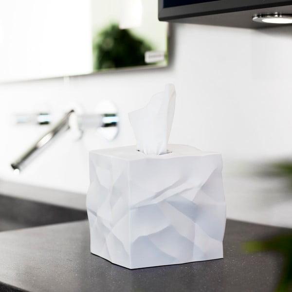 Pudełko na chusteczki Wipy Cube Białe