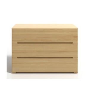 Komoda z drewna sosnowego z 3 szufladami SKANDICA Sparta