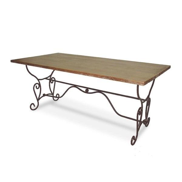 Stół Iron Wood, 180x90x75 cm