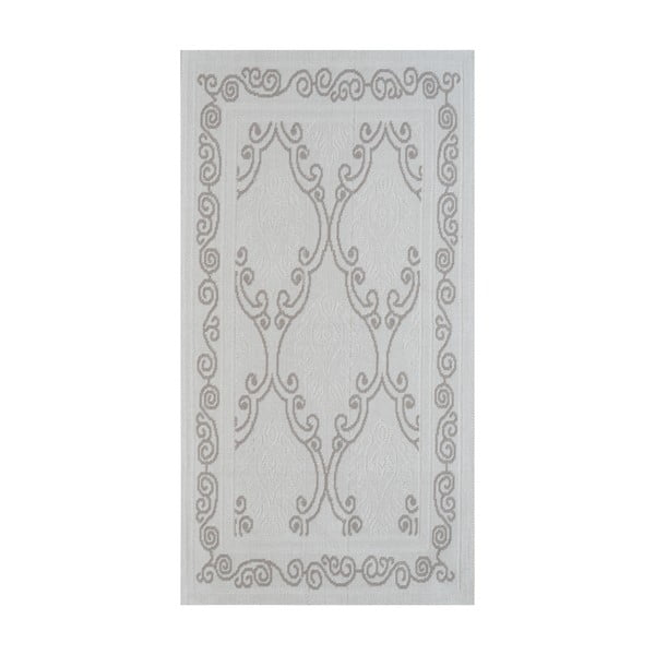 Beżowy wytrzymały dywan Vitaus Primrose, 80x200 cm