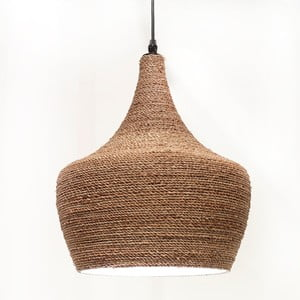 Lampa sufitowa Rotanlamp Punt, 31x40 cm