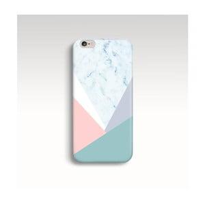 Etui na telefon Marble Pastel Triangle na iPhone 6/6S