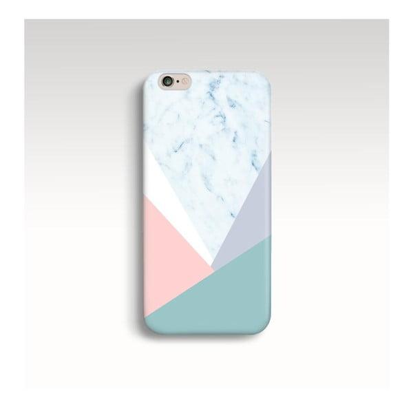 Etui na telefon Marble Pastel Triangle na iPhone 5/5S