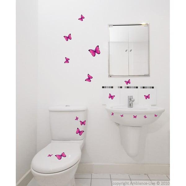 Naklejka Fanastick Pink Buttlerflies