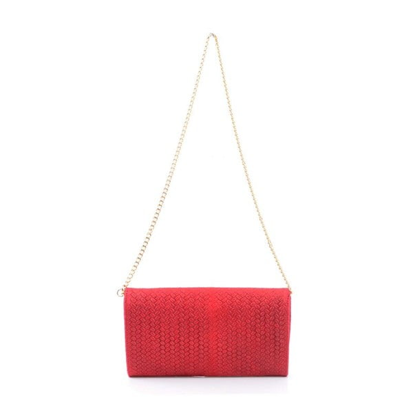Skórzana torebka Yaelle, czerwona
