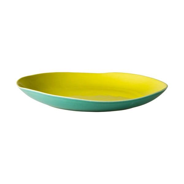 Ceramiczny talerz Green Jade