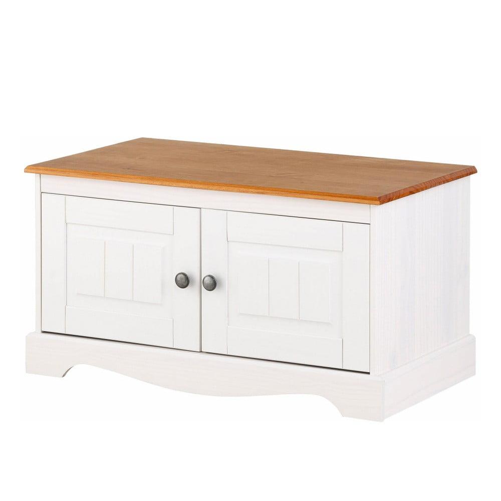 Biała szafka drewniana Støraa Monty Detail