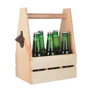 Drewniana skrzynka z otwieraczem na butelki Ego Dekor Farma