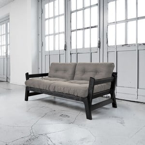 Sofa rozkładana Karup Step Black/Granite Grey
