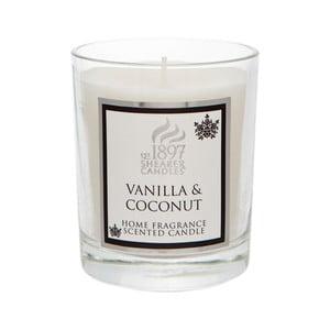 Świeczka zapachowa Coloured 30 godzin palenia, aromat wanilii i kokosu
