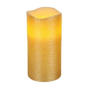 Złota świeczka LED Gina, wys. 15 cm