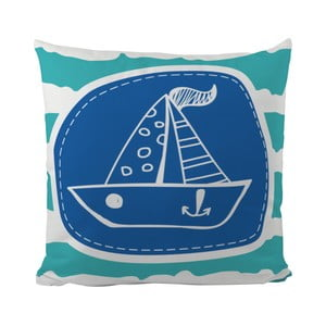 Poduszka   My Small Boat, 50x50 cm