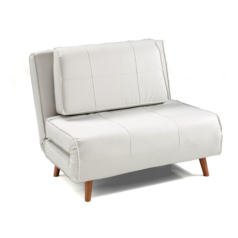 Biały rozkładany fotel Tomasucci Shift