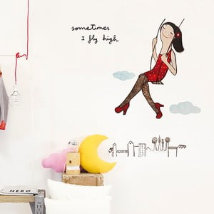 Naklejka dekoracyjna na ścianę Fly High